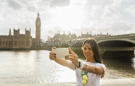 uk london beautiful woman taking a