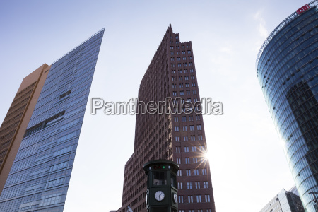 deutschland berlin potsdamer platz forum tower