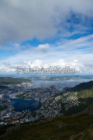bergen hordaland norwegen
