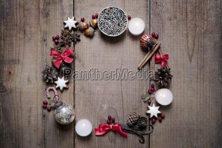 weihnachtsdekoration adventskranz