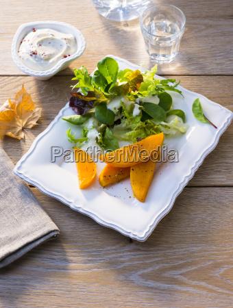 kuerbis salat
