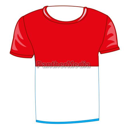 t shirt with flag poland