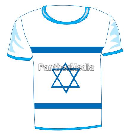 t shirt flag israel