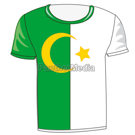 flag state algiers on cloth