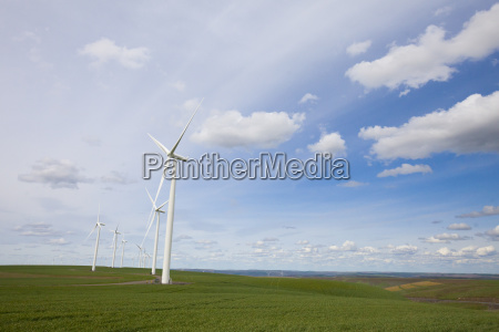 wind turbines at snake river wind