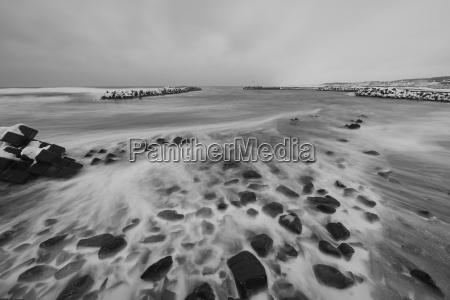 winter asien kalt kaelte strand stimmung