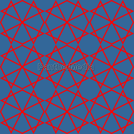 tile blue and red vector pattern