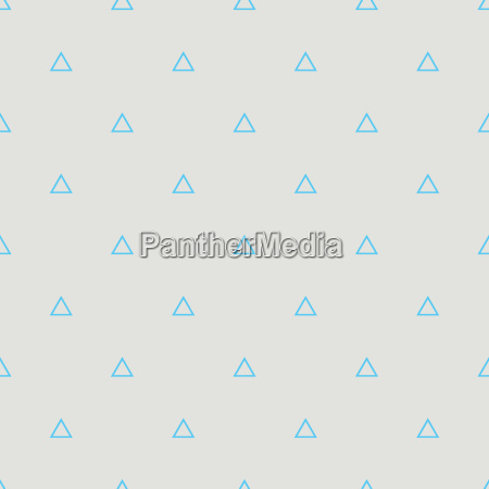 tile vector pattern with blue triangles