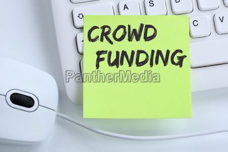 crowd funding crowdfunding online collecting money