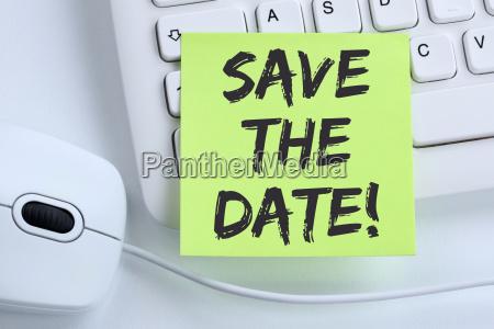 save the date termin datum einladung