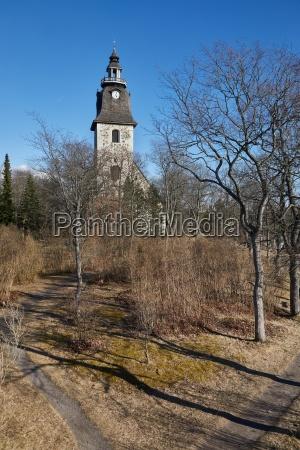 naantali church and park