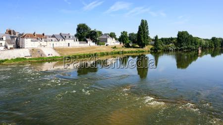 flow of water in loire river