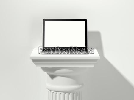 buero laptop notebook computer objekt architektonisch