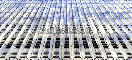 architectural pattern with glass