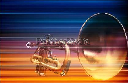 abstract blue white music background with