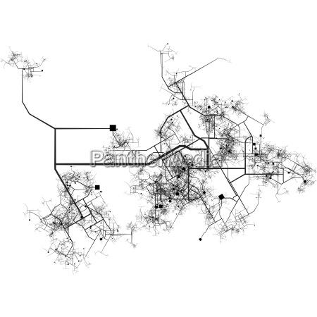 austausch broschuere bauten stadt metropole model