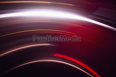 abstract image of vibrant red light