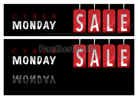 website banner cyber monday