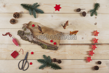 artikel fuer selbstgemachte weihnachtsdekoration