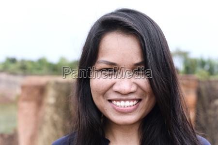 thailand chiang mai portrait of smiling