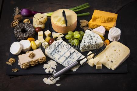 cheese platter cheddar tete de moine