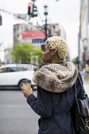 usa new york city fashionable young