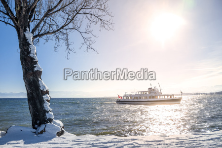 switzerland thurgau lake constance ferry in