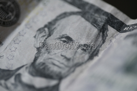 close up of abraham lincoln on