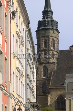 bautzen saxony germany tower of the