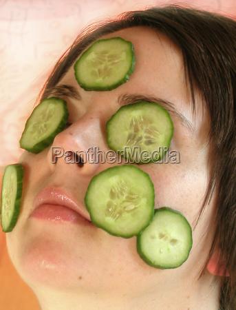 gurken maske