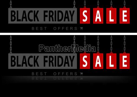 website banner black friday