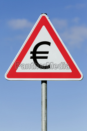symbolbild achtung eurozone