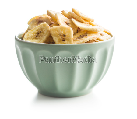 getrocknete bananenchips