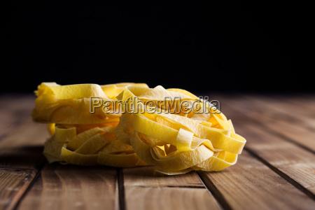 rohe tagliatelle pasta