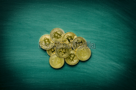 golden bitcoins cryptocurrency coins of bitcoin