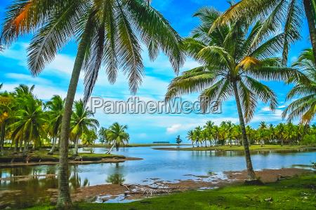 coastal landscape of sumatra