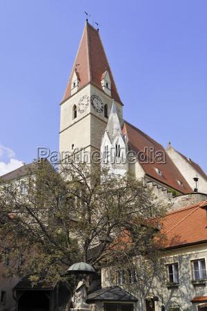 church of weissenkirchenwachauniederosterreichaustriaeurope