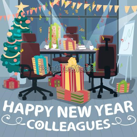 glueckwuensche happy new year von kollegen