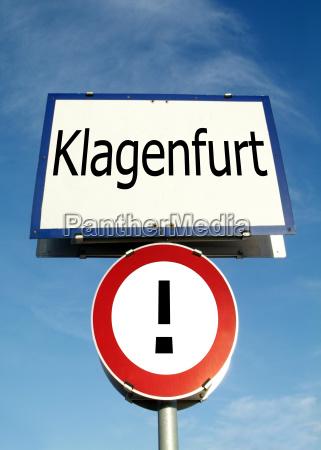 ortstafel klagenfurt