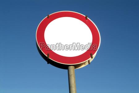 verkehrszeichen fahrverbot