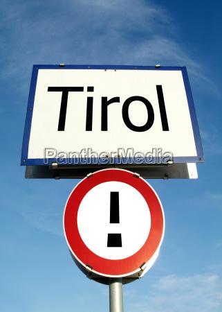 ortstafel tirol