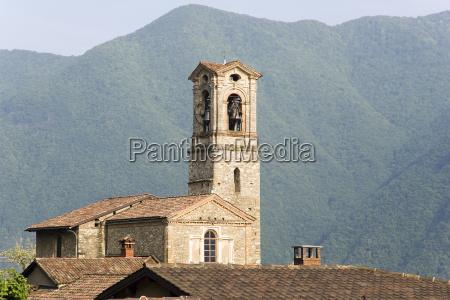 die kirche st giorgio von castagnola
