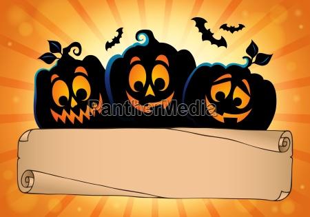 wide pergament und halloween kuerbisse 2