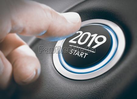 2019 startzwei tausend neunzehn