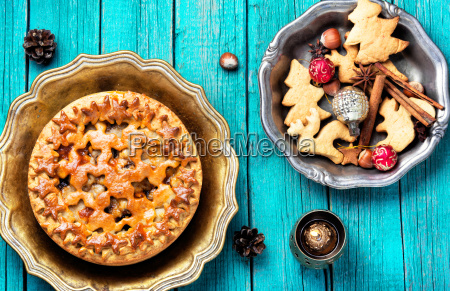 holiday home pie
