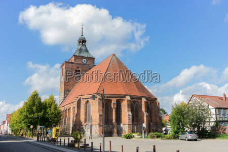 gothic church sankt nikolai in osterburg