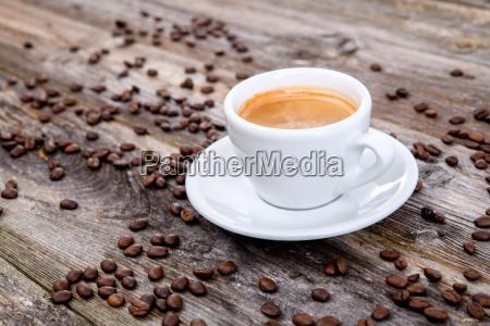 espresso eine menge kaffeebohnen