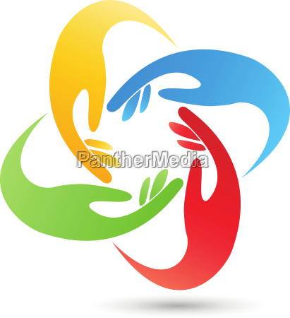 four hands group team logo