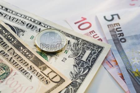 stilleben dollar dollars makro grossaufnahme macro