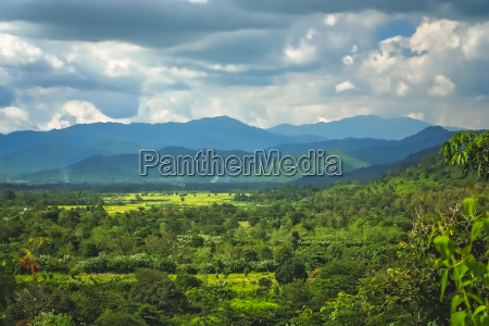 tropical landscape of sumbava